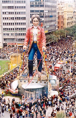 A falla of from year 2000 - now burnt